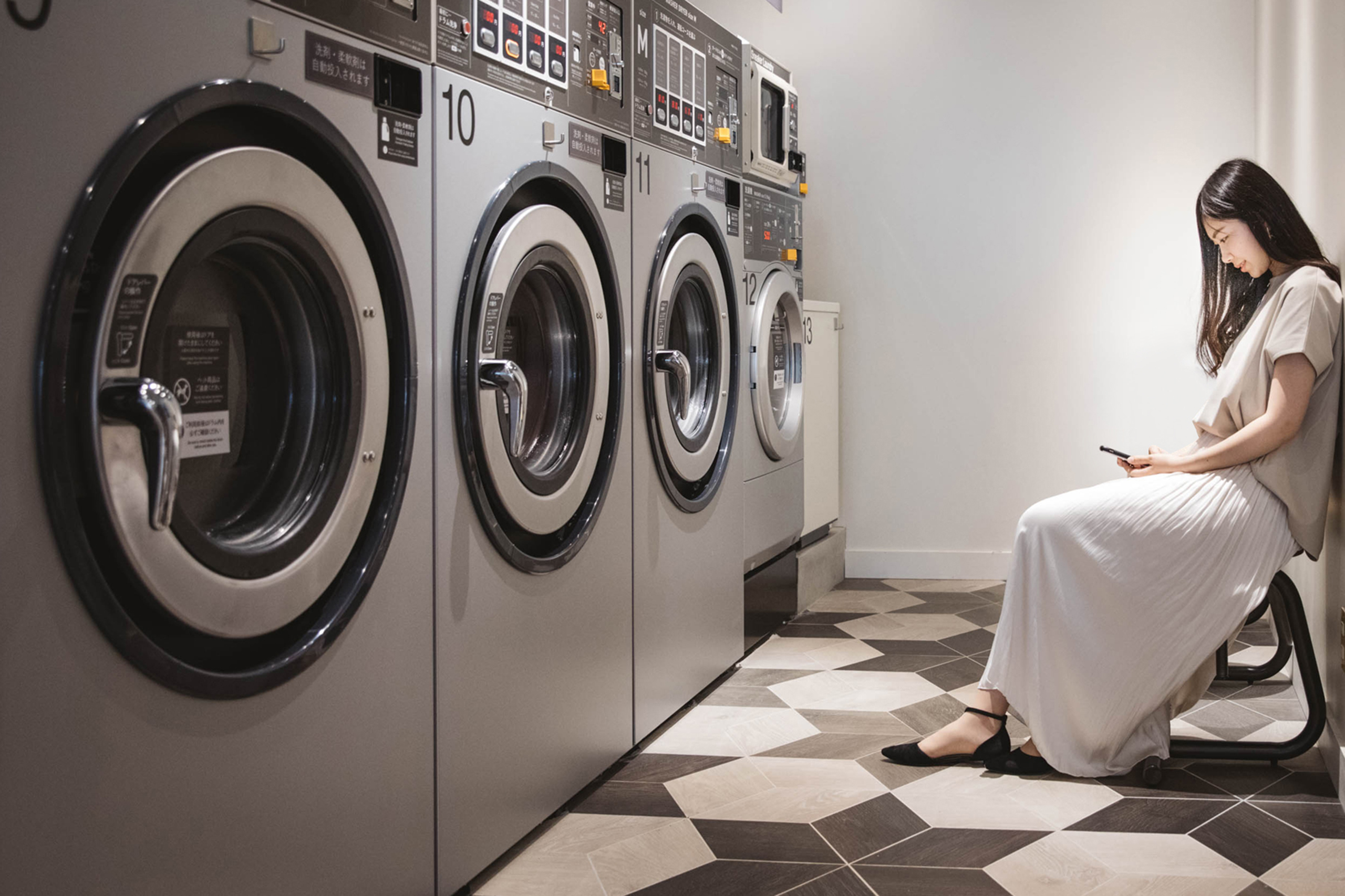 洗濯はもっとやさしくなれる。イメージ画像